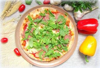 Pizza Capricciosa & Rucolla