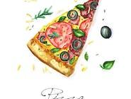 73. Pizza Pesto
