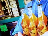 Sok jabłkowy Sady Rajewscy Ligol <3 Jabłka w butelce!