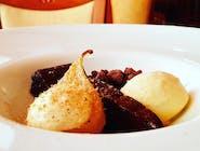 Pieczony Ganache z Belgijskiej czekolady