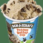Ben & Jerry's Peanut Butter Cup 500 ml - Lody o smaku masła orzechowego z cukierkami z masłem orzechowym