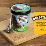Ben & Jerry's Chocolate Fudge Brownie 500 ml - Lody czekoladowe z kawałkami czekoladowych ciastek brownie