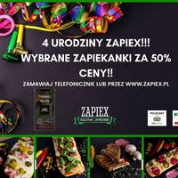 4 Lata Zapiex, Wybrane zapiekanki za 50% ceny