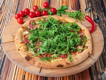 Pizza Prosciutto curdo