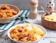 Bigos domowy wyborny z ziemniakami