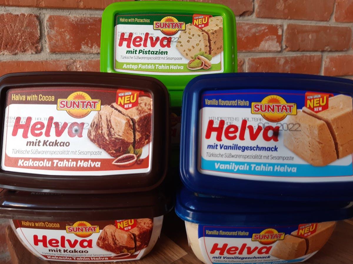 CHAŁWA, Produkty tureckie