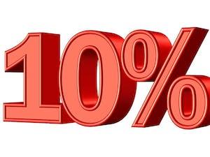 - 10 % GODFATHER