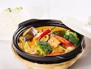 Kurczak w tajskim curry