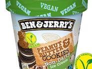 B&J Peanut Butter & Cookies Non-Dair