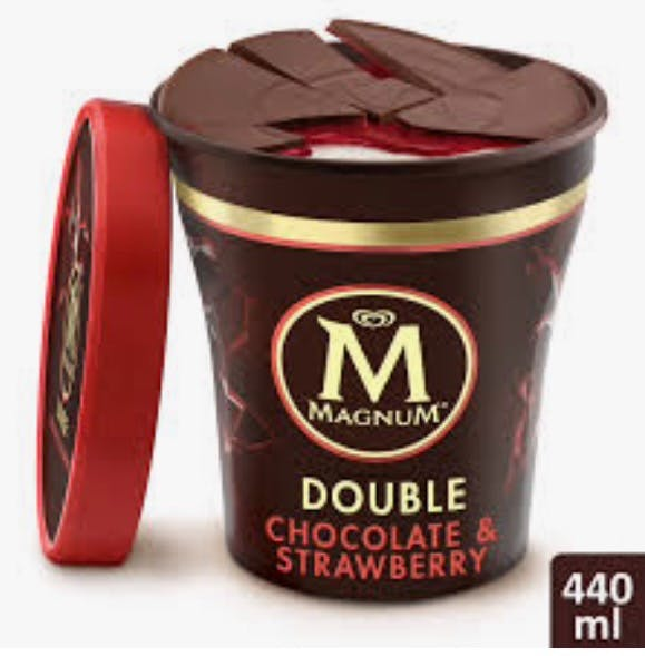 Magnum Double Chocolate & Strawberry