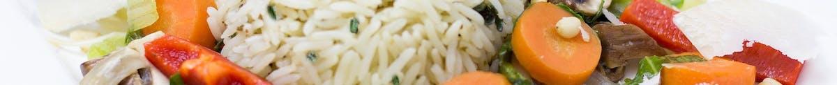 Drób Każde danie podawane jest z ryżem i surówką