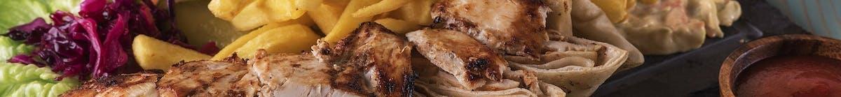 Wołowina Każde danie podawane jest z ryżem i surówką