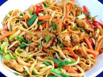 Wieprzowina Chow Mein