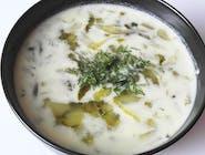 Zupa ogórkowa (wege)