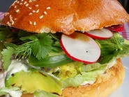Wiosenny Burger VEGE