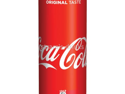 Coca Cola plech