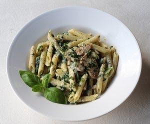 Penne all gorgonzola