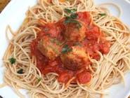 Spaghetti z pulpecikami 400g