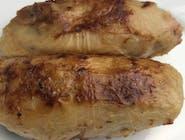 Gołąbki z ryżem i mięsem smażone na maśle w sosie pieczeniowym 2 szt.