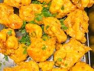 Kalafior smażony w cieście z ciecierzycy 250g, 2 sosy