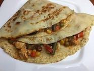 Naleśnik meksykański z kurczakiem