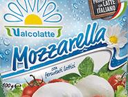 Mozzarella Fior di Latte Valcolatte, 100g