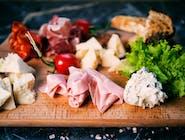 Tagliere misto formaggi e salumi ital.