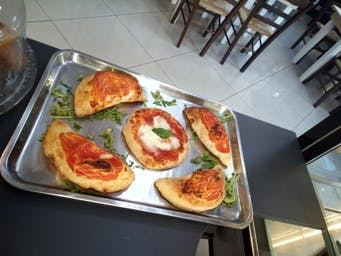 Pizza Margherita e Calzone mini
