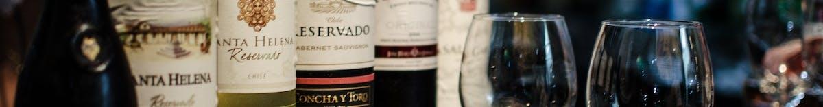 Karta win - środkowe Włochy