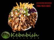 Zestaw kebab średni