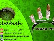 Kebab pita XL