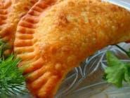 czeburek fasola z ziemniakami(wegański)