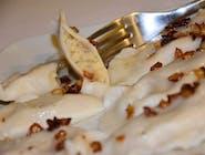 Pierogi z fasolą i ziemniakami 8 szt (wegańskie)