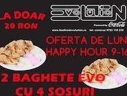 Doua Bagheta Evo cu 4 Sosuri