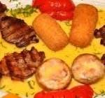 Ficăței de pui în bacon
