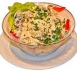 Salată orientală picantă cu ton sau Calamares
