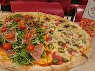 Pizza pół na pół 42 CM - własna kompozycja