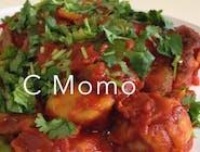 VEG C MOMO (SPICY)