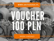 Voucher prezentowy na kwotę 100 PLN