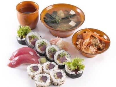 Zestaw z tuńczykiem