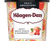 Haagen-Dazs Juicy White Peach&Raspberry