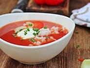 Zupa Dnia pomidorowa z ryżem