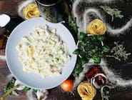 Pappardelle z kurczakiem i brokułami