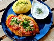 Filet drobiowy z pomidorami i mozzarellą