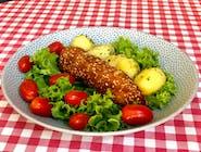 Kieszonka drobiowa z szynką i gorgonzolą