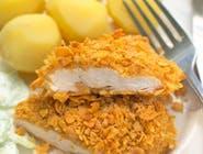 Filet z kurczaka w płatkach kukurydzianych