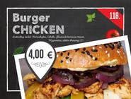 118. Chicken burger