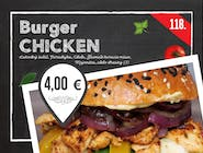118. Chicken burger