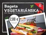 32. Vegetariánska bageta