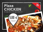 26. PIZZA CHICKEN